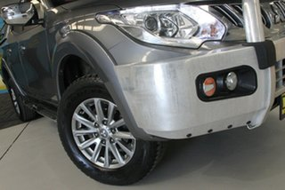 2016 Mitsubishi Triton MQ MY16 GLS (4x4) Grey 5 Speed Automatic Dual Cab Utility.