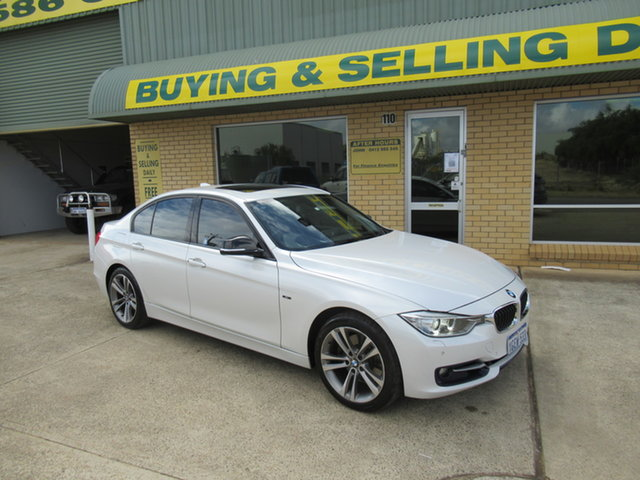 Used BMW 328i F30 328i Mandurah, 2012 BMW 328i F30 328i White 8 Speed Automatic Sedan