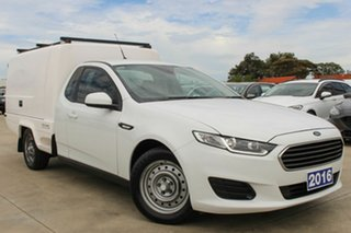 2016 Ford Falcon FG X Super Cab White 6 Speed Sports Automatic Cab Chassis