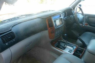 2004 Toyota Landcruiser HDJ100R Sahara Black 5 Speed Automatic Wagon