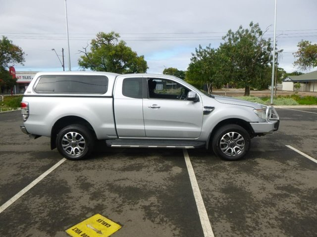 Used Ford Ranger PX XLT Hi-Rider Beverley, 2012 Ford Ranger PX XLT Hi-Rider Silver Sports Automatic Utility