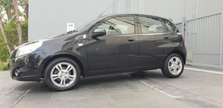2011 Holden Barina TK MY11 Black 4 Speed Automatic Hatchback