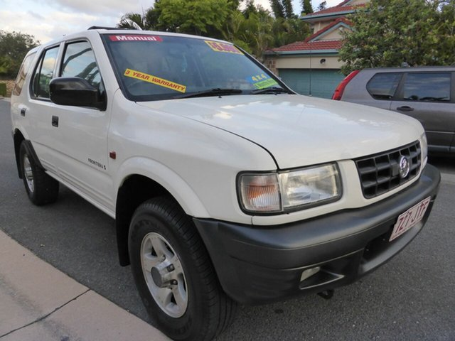 Used Holden Frontera MX (4x4) Southport, 2001 Holden Frontera MX (4x4) White 5 Speed Manual Wagon