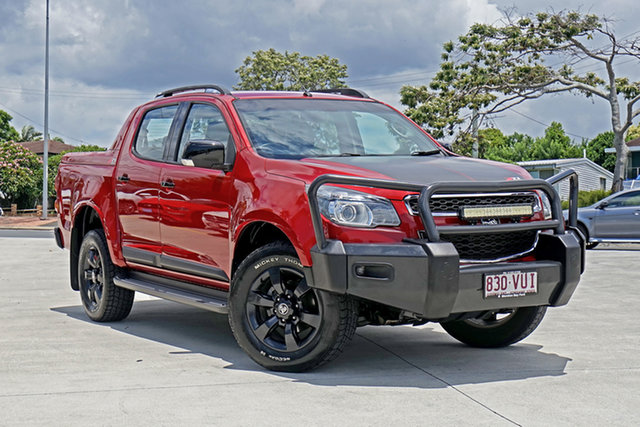 Used Holden Colorado RG MY15 LTZ Crew Cab Capalaba, 2015 Holden Colorado RG MY15 LTZ Crew Cab Red 6 Speed Manual Utility