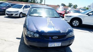 2003 Ford Falcon BA XT Blue 4 Speed Sports Automatic Sedan.