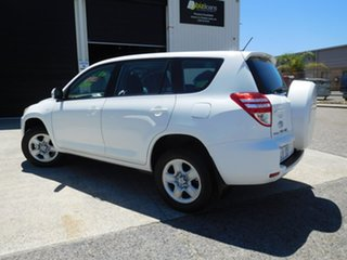 2010 Toyota RAV4 ACA38R MY09 CV 4x2 White 5 Speed Manual Wagon