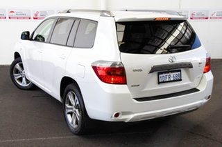 2009 Toyota Kluger GSU45R KX-S (4x4) White Pearl Crystal Shine 5 Speed Automatic Wagon.