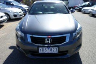 2010 Honda Accord 50 MY10 V6 Luxury Slate Grey 5 Speed Automatic Sedan.