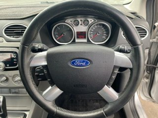 2010 Ford Focus LV Mk II TDCi PwrShift Moondust Silver 6 Speed Sports Automatic Dual Clutch