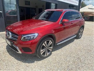 2018 Mercedes-Benz GLC250D X253 MY19.5 4Matic Red 9 Speed Automatic G-Tronic Wagon