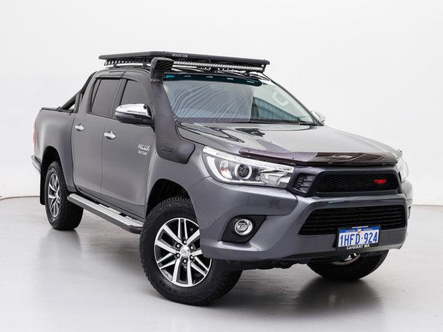 Used Toyota Hilux GUN126R MY17 SR5 (4x4), 2018 Toyota Hilux GUN126R MY17 SR5 (4x4) Grey 6 Speed Automatic Dual Cab Utility