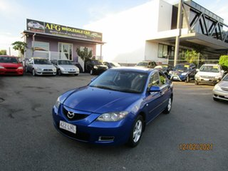 2008 Mazda 3 BK MY06 Upgrade Neo Blue 4 Speed Auto Activematic Sedan.