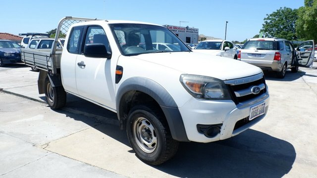 Used Ford Ranger PK XL Hi-Rider St James, 2011 Ford Ranger PK XL Hi-Rider White 5 Speed Manual Cab Chassis