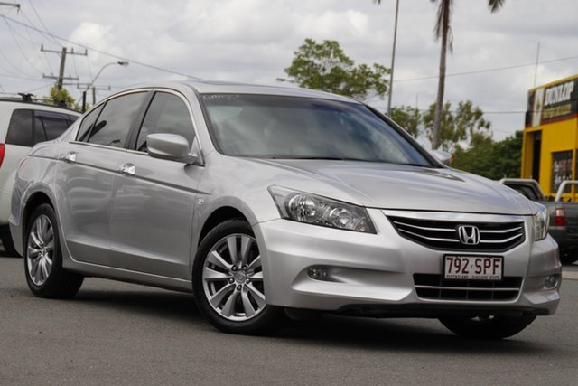 Used Honda Accord 8th Gen MY12 Limited Edition Rocklea, 2012 Honda Accord 8th Gen MY12 Limited Edition Alabaster Silver 5 Speed Sports Automatic Sedan