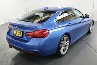 2017 BMW 4 Series F32 430i M Sport Blue 8 Speed Sports Automatic Coupe