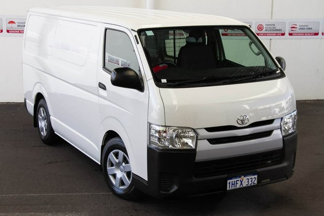 Pre-Owned Toyota HiAce KDH201R MY16 LWB Myaree, 2018 Toyota HiAce KDH201R MY16 LWB French Vanilla 4 Speed Automatic Van