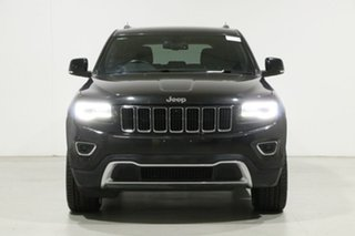 2013 Jeep Grand Cherokee WK MY14 Limited (4x4) Black 8 Speed Automatic Wagon.