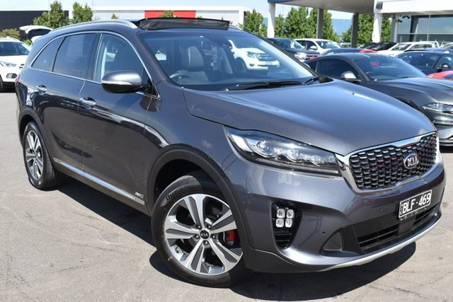 Used Kia Sorento UM MY20 GT-Line AWD Essendon Fields, 2019 Kia Sorento UM MY20 GT-Line AWD Grey 8 Speed Sports Automatic Wagon