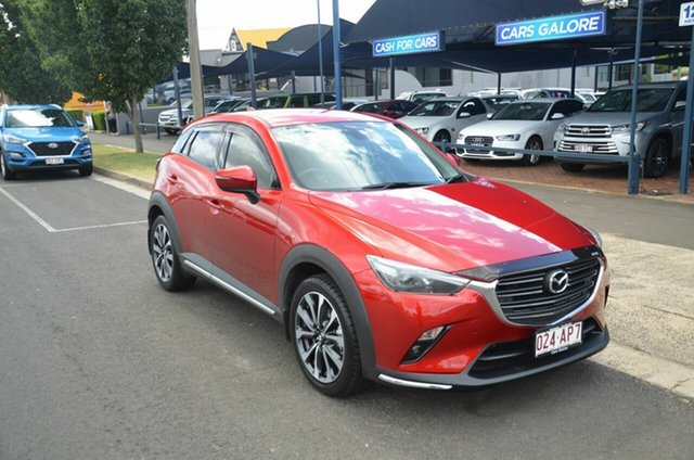 Used Mazda CX-3 DK MY19 S Touring (FWD) Toowoomba, 2018 Mazda CX-3 DK MY19 S Touring (FWD) Red 6 Speed Automatic Wagon