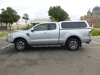 2012 Ford Ranger PX XLT Hi-Rider Silver Sports Automatic Utility.