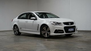 2015 Holden Commodore VF MY15 SS White 6 Speed Sports Automatic Sedan.
