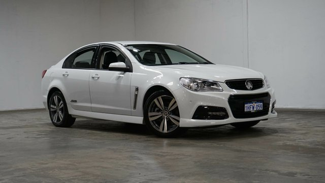 Used Holden Commodore VF MY15 SS Welshpool, 2015 Holden Commodore VF MY15 SS White 6 Speed Sports Automatic Sedan