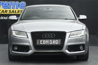 2010 Audi A5 8T MY10 S Tronic Quattro Grey 7 Speed Sports Automatic Dual Clutch Coupe.