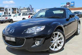 2010 Mazda MX-5 NC30F2 MY09 Roadster Coupe Black 6 Speed Manual Hardtop