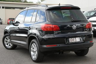 2014 Volkswagen Tiguan 5N MY14 132TSI DSG 4MOTION Pacific Black 7 Speed Sports Automatic Dual Clutch.