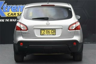 2010 Nissan Dualis J10 MY2009 ST Hatch X-tronic Silver Lightning 6 Speed Constant Variable Hatchback
