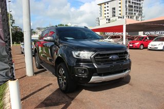2018 Ford Ranger PX MkIII 2019.00MY Wildtrak Black 10 Speed 10 SP AUTOMATIC Dual Cab Pick-up.