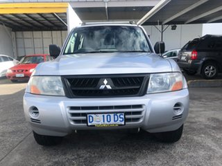 2003 Mitsubishi Pajero NP GLS Silver 5 Speed Sports Automatic Wagon