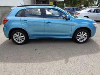 2011 Mitsubishi ASX XA MY12 2WD Kingfisher Blue 6 Speed Constant Variable Wagon.