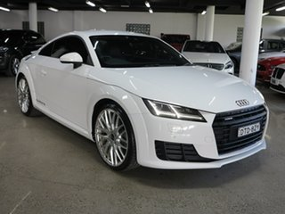 2016 Audi TT FV MY16 S Line S Tronic Quattro White 6 Speed Sports Automatic Dual Clutch Coupe.