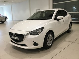 2018 Mazda 2 DL2SAA Neo SKYACTIV-Drive White 6 Speed Sports Automatic Sedan