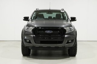 2017 Ford Ranger PX MkII MY17 FX4 Special Edition Grey 6 Speed Manual Double Cab Pick Up.