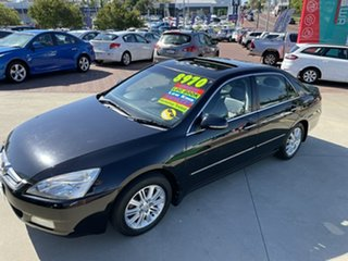 2007 Honda Accord 40 MY06 Upgrade V6 Luxury Black 5 Speed Automatic Sedan