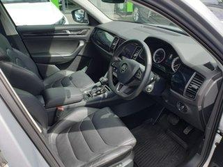 2018 Skoda Kodiaq NS MY18.5 140TDI DSG Silver 7 Speed Sports Automatic Dual Clutch Wagon