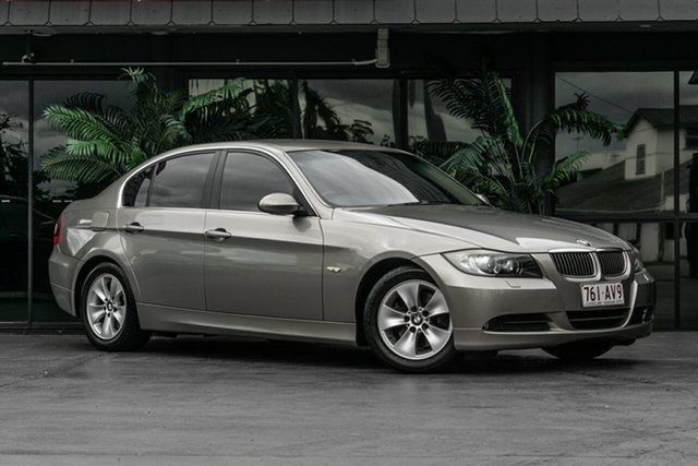 Used BMW 3 Series E90 MY08 323i Steptronic Bowen Hills, 2008 BMW 3 Series E90 MY08 323i Steptronic Beige 6 Speed Sports Automatic Sedan