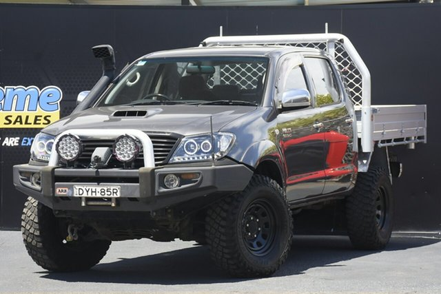 Used Toyota Hilux KUN26R MY07 SR5 Campbelltown, 2007 Toyota Hilux KUN26R MY07 SR5 Grey 5 Speed Manual Utility