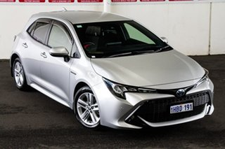 2020 Toyota Corolla ZWE211R SX E-CVT Hybrid Silver Pearl 10 Speed Constant Variable Hatchback Hybrid.