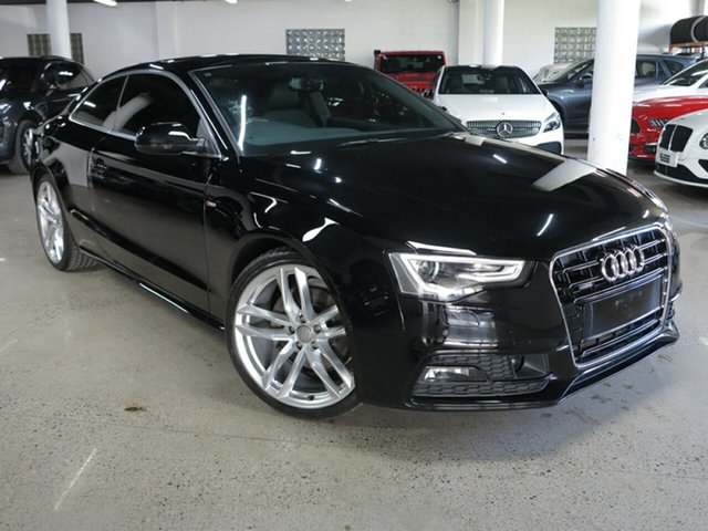 Used Audi A5 8T MY16 S Tronic Quattro Albion, 2016 Audi A5 8T MY16 S Tronic Quattro Black 7 Speed Sports Automatic Dual Clutch Coupe