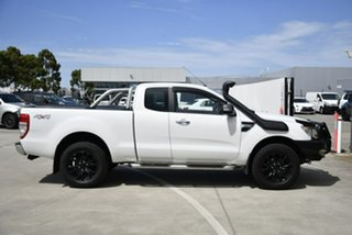 2013 Ford Ranger PX XLT Super Cab White 6 Speed Manual Utility