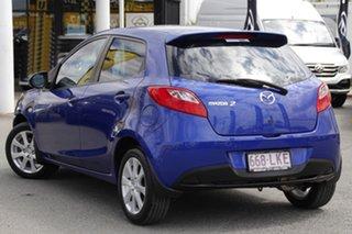 2008 Mazda 2 DE10Y1 Maxx Aurora Blue 5 Speed Manual Hatchback.