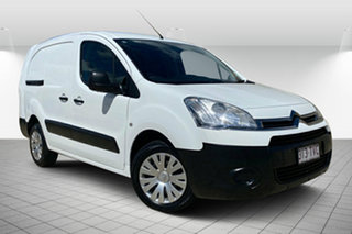 2013 Citroen Berlingo B9C MY13 L2 HDi White 5 Speed Manual Van.