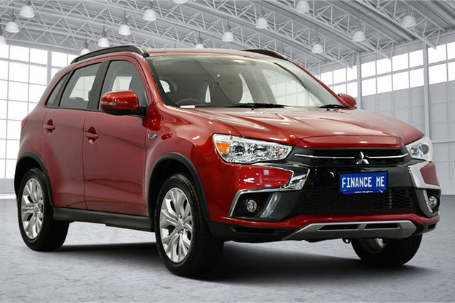 Used Mitsubishi ASX XC MY19 ES 2WD Victoria Park, 2019 Mitsubishi ASX XC MY19 ES 2WD Red 1 Speed Constant Variable Wagon