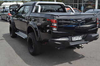 2017 Mitsubishi Triton MQ MY17 GLX Double Cab Black 6 Speed Manual Utility