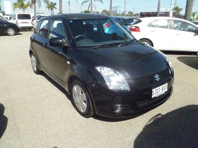 Used Suzuki Swift RS415 Moorabbin, 2010 Suzuki Swift RS415 Black 5 Speed Manual Hatchback