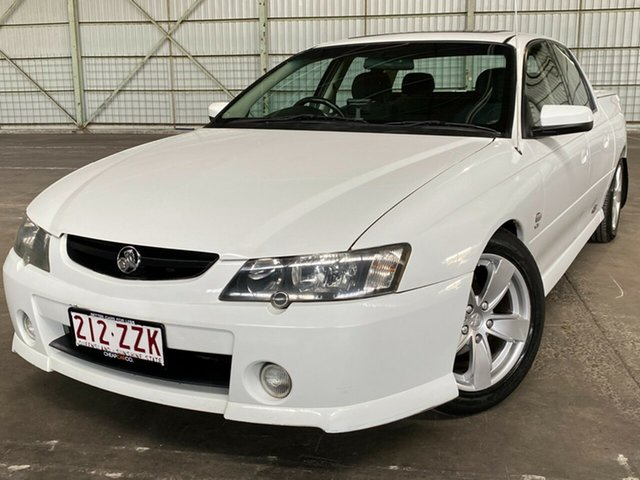 Used Holden Crewman VY II SS Rocklea, 2004 Holden Crewman VY II SS White 4 Speed Automatic Utility