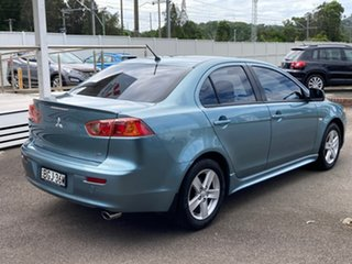 2008 Mitsubishi Lancer CJ MY08 VR Blue 6 Speed Constant Variable Sedan